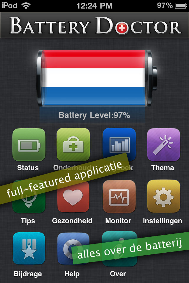 Battery Doctor Pro - Max Your Battery Life iPhone screenshot 1